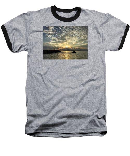 Cotton Clouds Baseball T-Shirt
