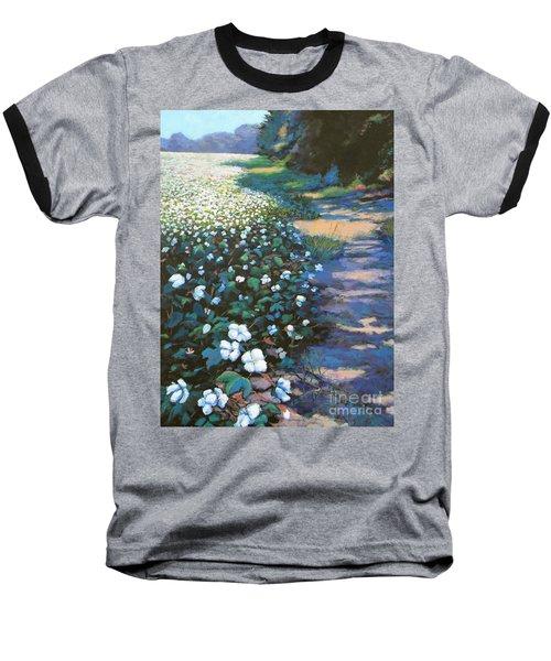 Cotton Field Baseball T-Shirt