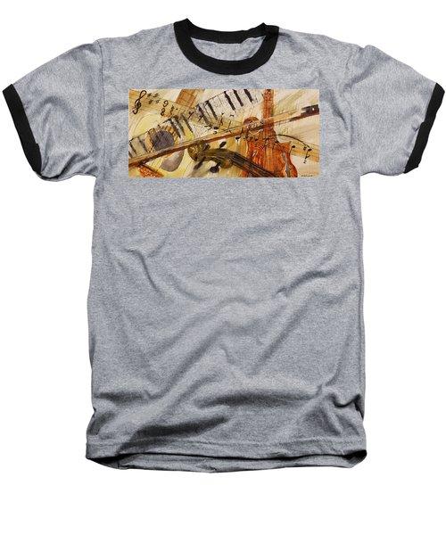 Cotton Pickin' Blues Baseball T-Shirt
