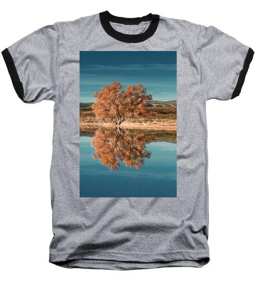 Cotton Wood Tree  Baseball T-Shirt