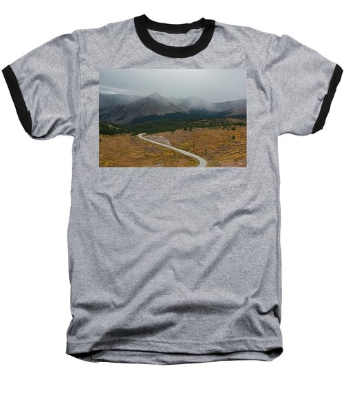 Baseball T-Shirt featuring the photograph Cottonwood Pass #1 by Dana Sohr