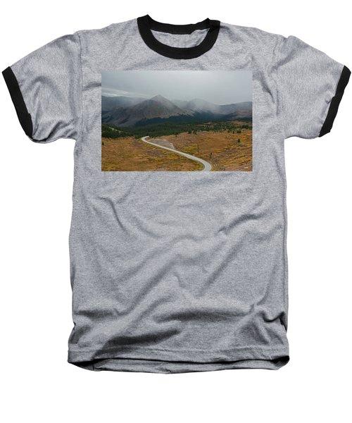 Cottonwood Pass #1 Baseball T-Shirt by Dana Sohr