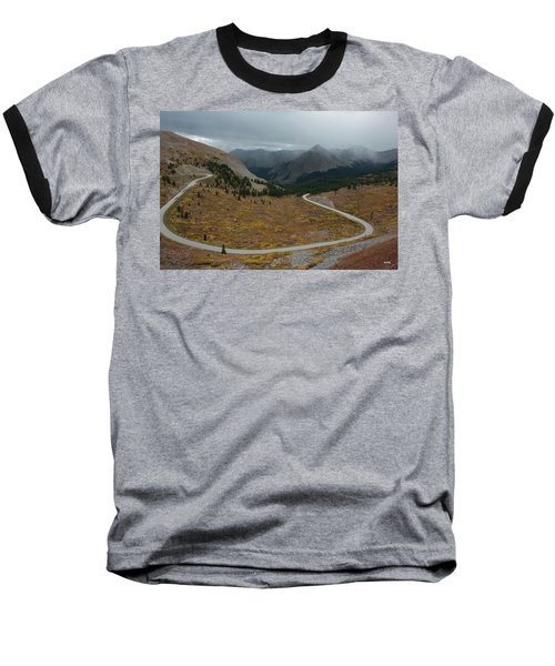 Baseball T-Shirt featuring the photograph Cottonwood Pass #2 by Dana Sohr