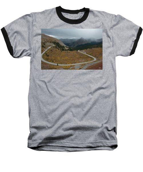Cottonwood Pass #2 Baseball T-Shirt by Dana Sohr