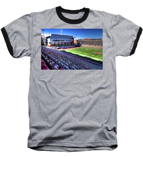 Cougar Football Complex At Martin Stadium Baseball T-Shirt
