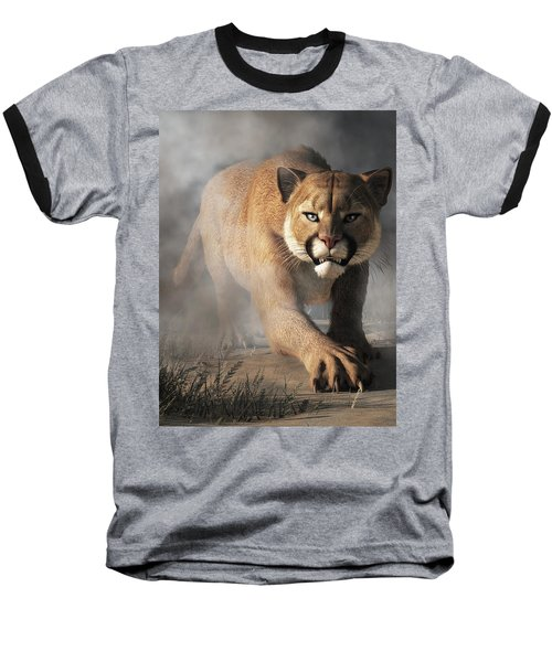 Cougar Is Gonna Get You Baseball T-Shirt
