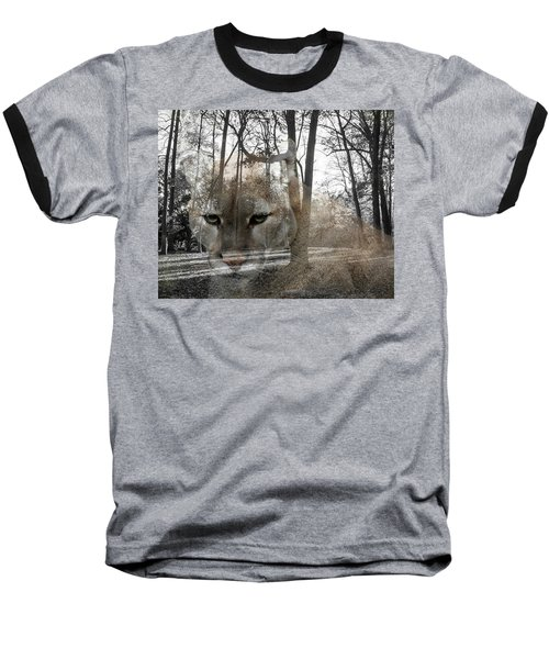 Cougar The Cunning One Baseball T-Shirt