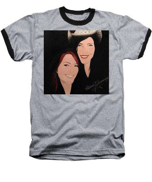 Cougrzz Rock Duo Baseball T-Shirt