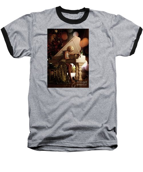 Baseball T-Shirt featuring the digital art Counting Blessings by Shanina Conway