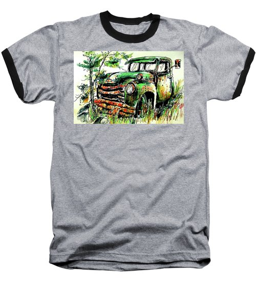 Baseball T-Shirt featuring the painting Country Antiques by Terry Banderas