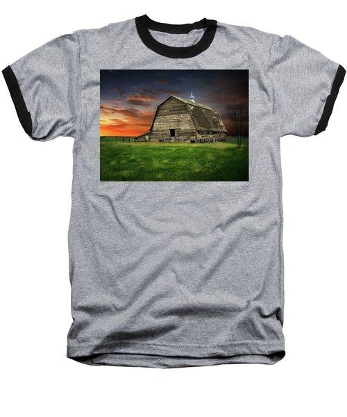 Country Barn Baseball T-Shirt