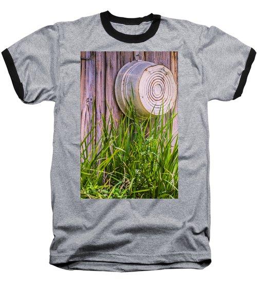 Country Bath Tub Baseball T-Shirt by Carolyn Marshall