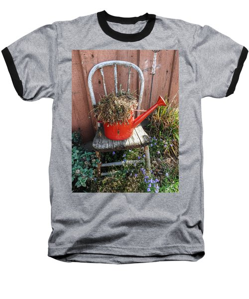 Country Charm Baseball T-Shirt by Janice Adomeit