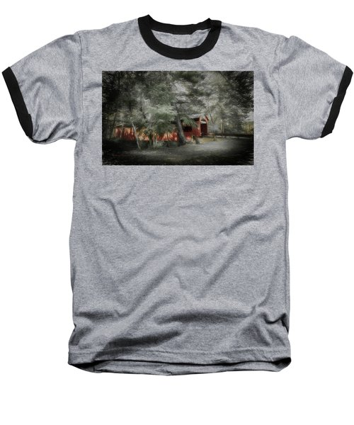 Baseball T-Shirt featuring the photograph Country Crossing by Marvin Spates