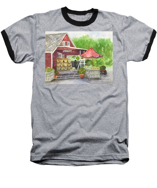 Country Farmer's Market Baseball T-Shirt