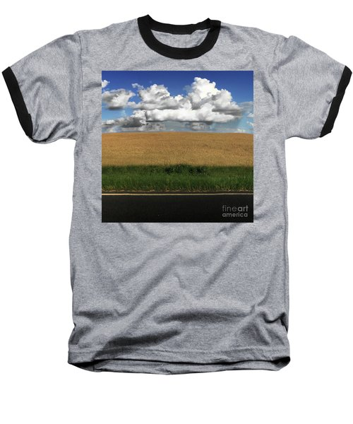 Country Field Baseball T-Shirt by Brian Jones