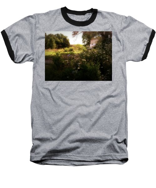 Country House Baseball T-Shirt by Cynthia Lassiter