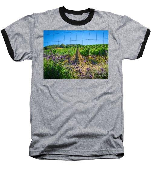 Country Lavender V Baseball T-Shirt