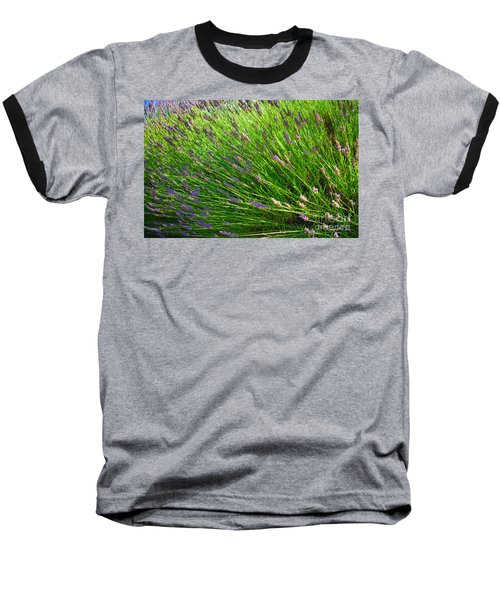 Country Lavender Vi Baseball T-Shirt