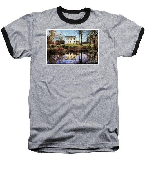 Country Living Baseball T-Shirt by Marcia Lee Jones
