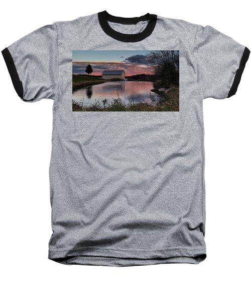 Country Living Sunset Baseball T-Shirt by Lara Ellis
