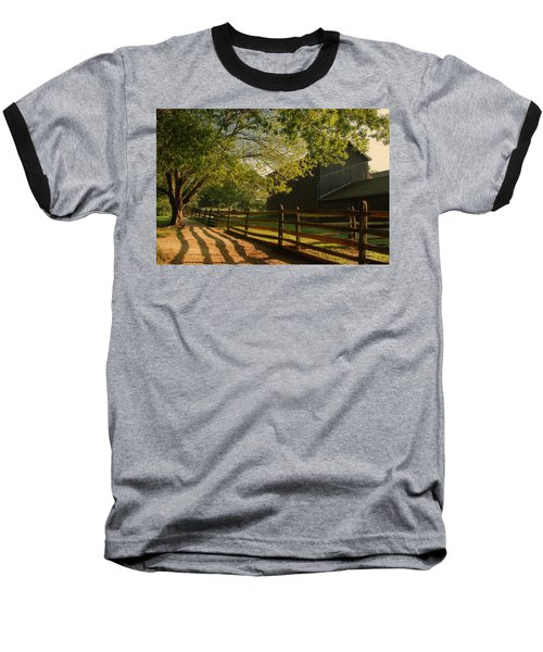 Country Morning - Holmdel Park Baseball T-Shirt