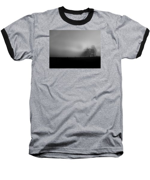 Baseball T-Shirt featuring the photograph Country Morning Vision Georgia Usa by Sally Ross