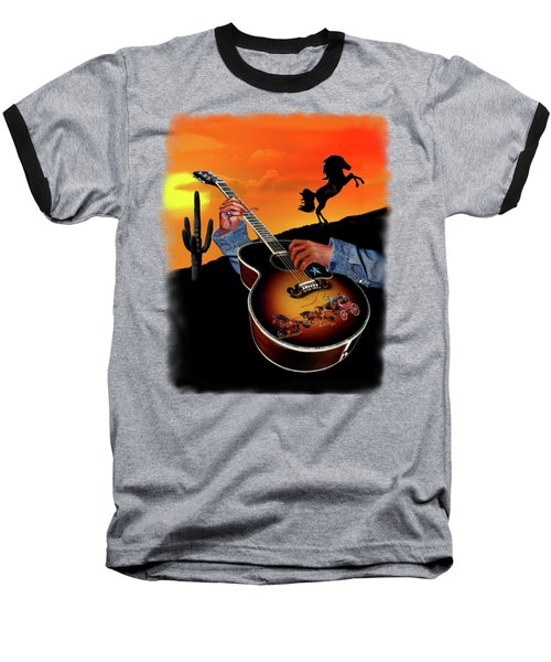 Country Music Baseball T-Shirt