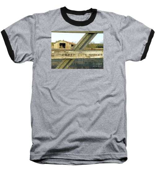 Baseball T-Shirt featuring the photograph Country Quiet by Joe Jake Pratt