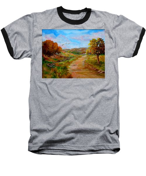 Country Road 2 Baseball T-Shirt
