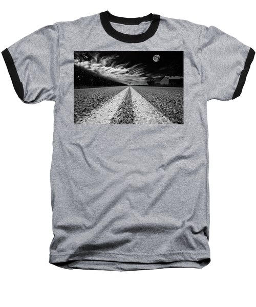 Country Road 51 Baseball T-Shirt by Kevin Cable