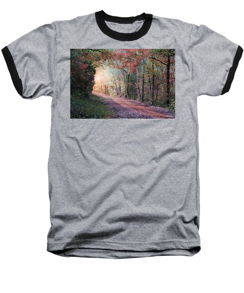 Country Road Baseball T-Shirt by Bill Stephens