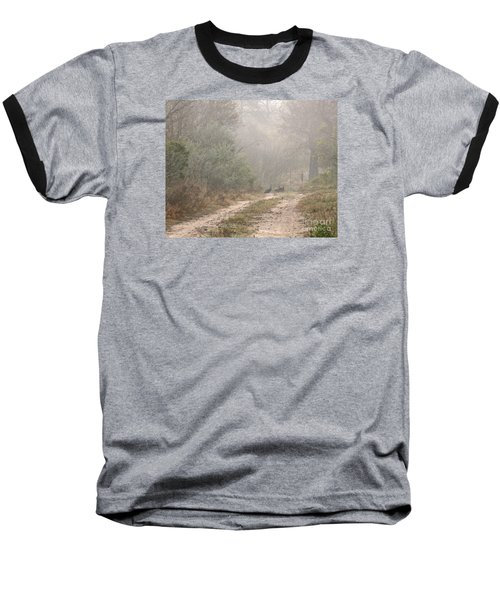Country Road In The Morning Baseball T-Shirt