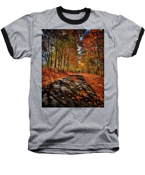 Country Road Baseball T-Shirt by Mark Allen