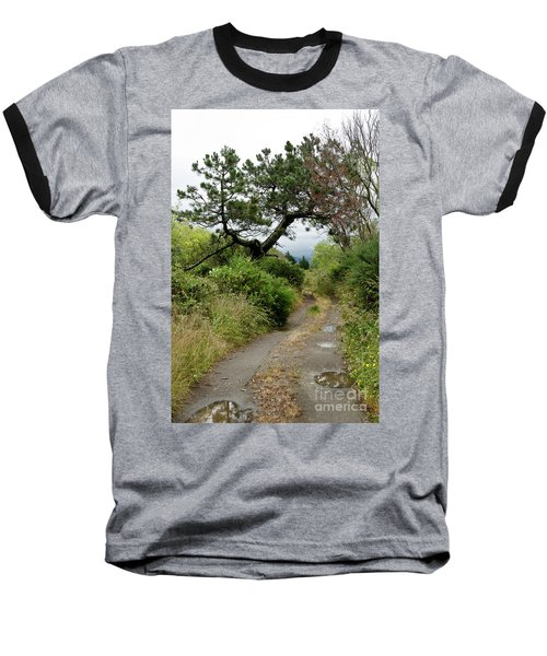 Country Road. New Zealand Baseball T-Shirt by Yurix Sardinelly