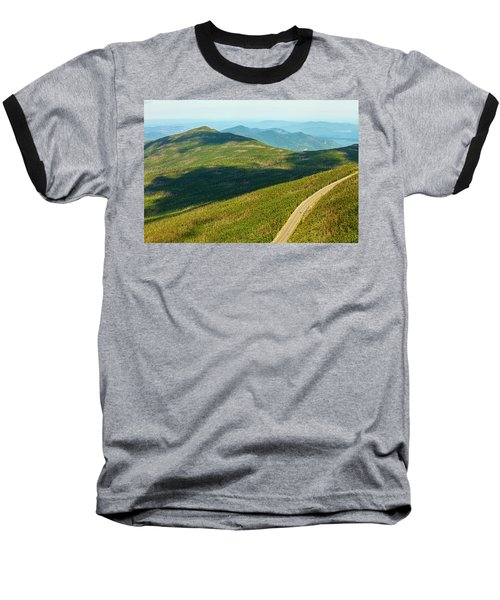 Baseball T-Shirt featuring the photograph Country Road To My Home Whiteface Mountain New York by Paul Ge