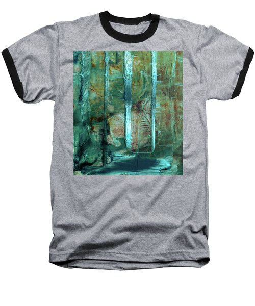 Country Roads - Abstract Landscape Painting Baseball T-Shirt