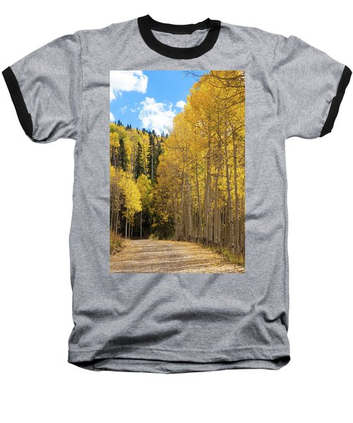 Baseball T-Shirt featuring the photograph Country Roads by David Chandler