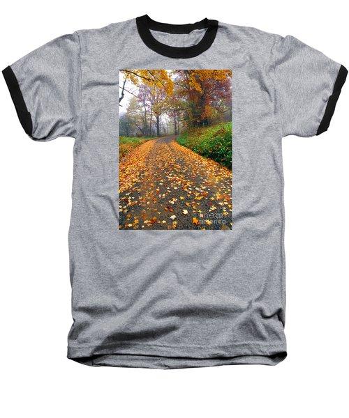 Country Roads Take Me Home Baseball T-Shirt by Thomas R Fletcher