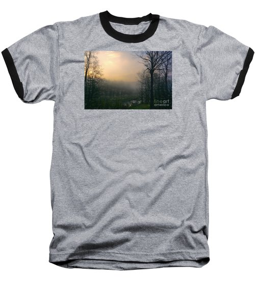 Baseball T-Shirt featuring the photograph Country Sketch by Mim White