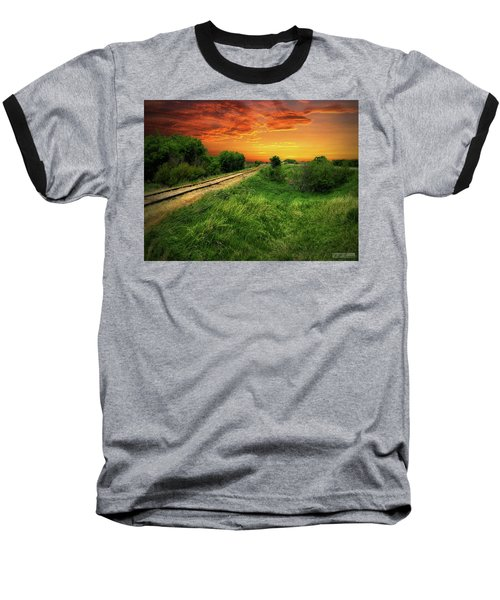 Country Tracks 2 Baseball T-Shirt