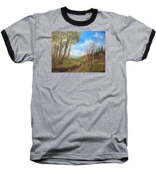 Country Valley  Baseball T-Shirt