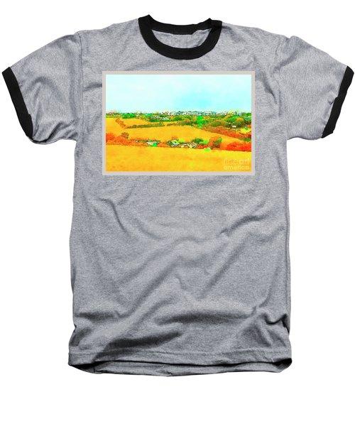 countryside  in Cornwall, UK Baseball T-Shirt