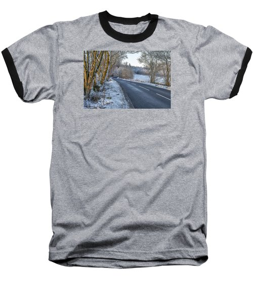 Countryside Road In Central Scotland Baseball T-Shirt