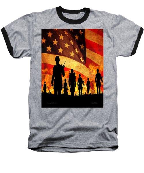Courage Under Fire Baseball T-Shirt