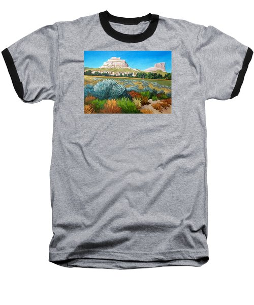 Courthouse And Jail Rocks 2 Baseball T-Shirt
