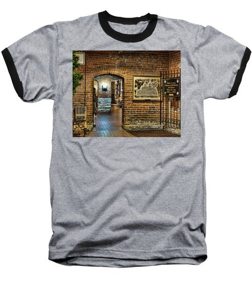 Courthouse Shops Baseball T-Shirt