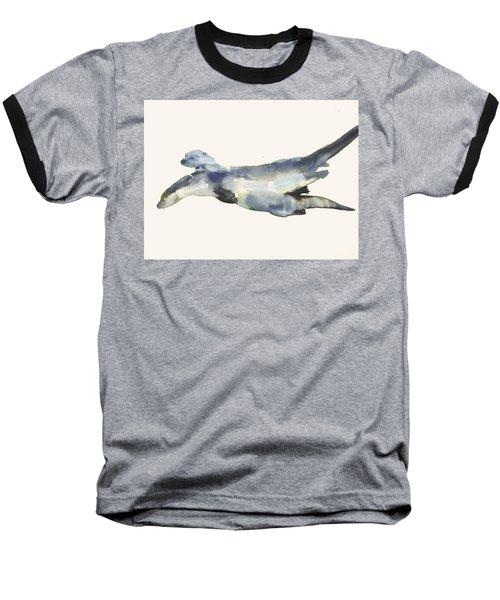 Courting Otters  Baseball T-Shirt