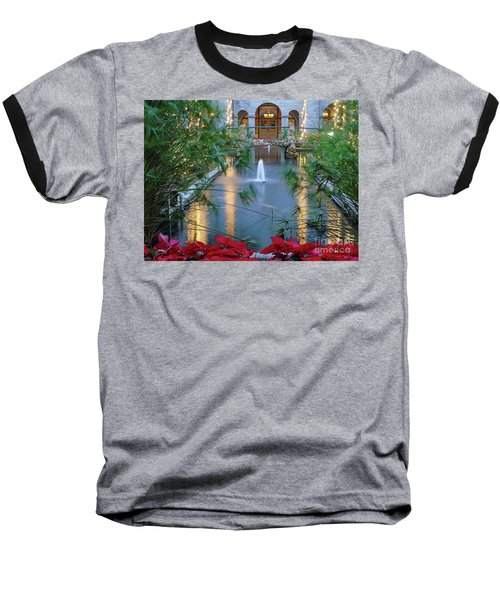 Courtyard Garden Baseball T-Shirt