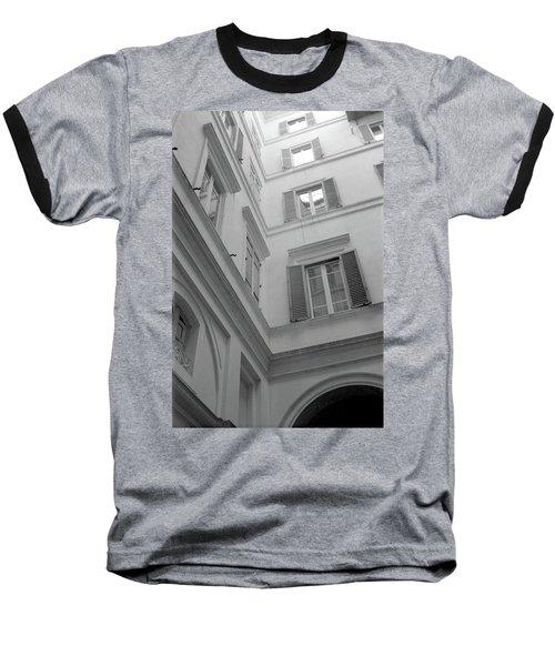 Courtyard In Rome Baseball T-Shirt